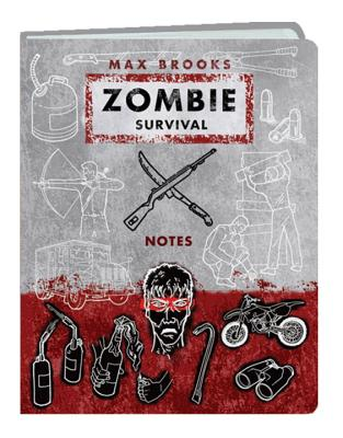Zombie Survival Notes Mini Journal Cover