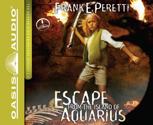 Escape from the Island of Aquarius (Library Edition) (The Cooper Kids Adventure Series #2) cover