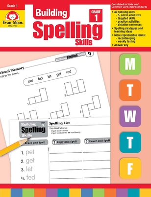 Building Spelling Skills Grade 1 Cover Image