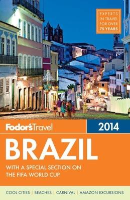 Fodor's Brazil Cover