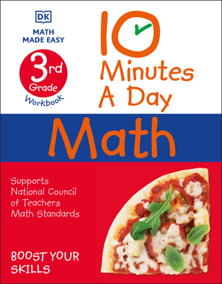 10 Minutes a Day Math, 3rd Grade Cover Image