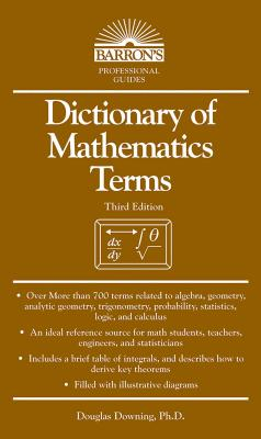 Dictionary of Mathematics Terms Cover Image