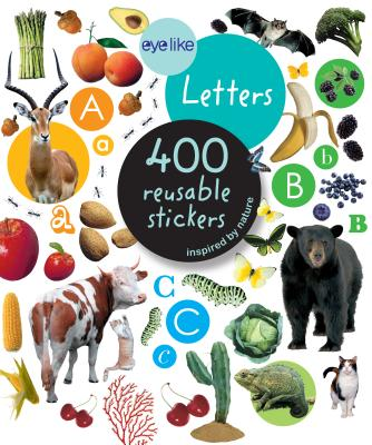 Eyelike Stickers: Letters Cover Image