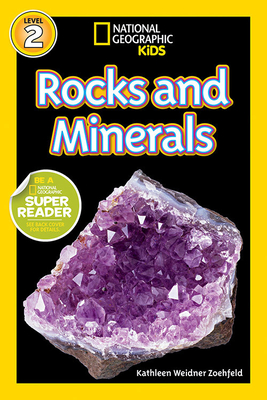 National Geographic Readers: Rocks and Minerals Cover Image