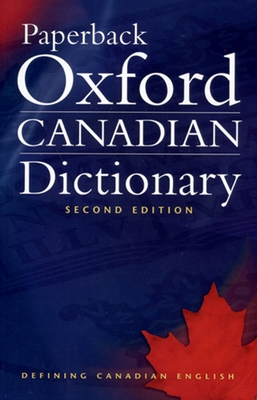 Paperback Oxford Canadian Dictionary Cover Image