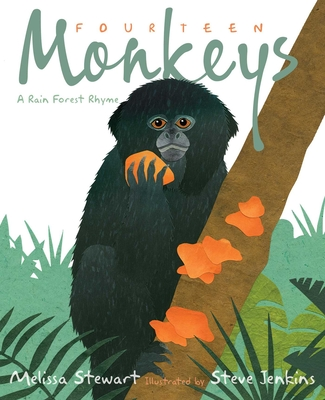 Fourteen Monkeys: A Rain Forest Rhyme Cover Image