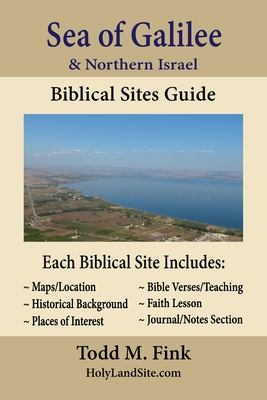 Sea of Galilee & Northern Israel Biblical Sites Guide Cover Image