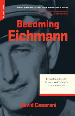 Cover for Becoming Eichmann