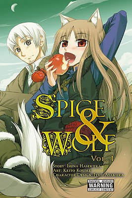 Spice & Wolf, Volume 1 Cover