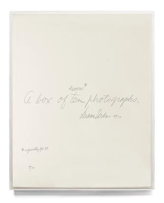 Diane Arbus: A Box of Ten Photographs Cover Image