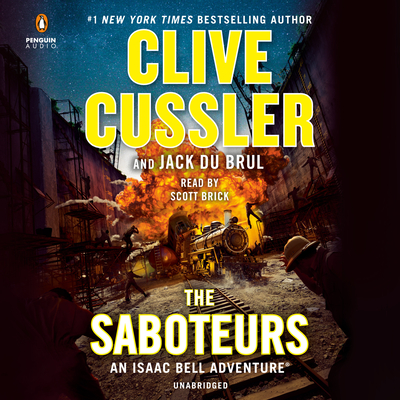 Cover for The Saboteurs (An Isaac Bell Adventure #12)