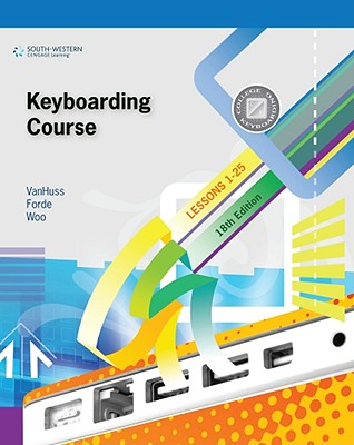 Keyboarding Course, Lessons 1-25 Cover Image