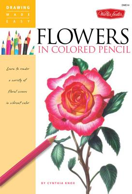 Flowers in Colored Pencil Cover