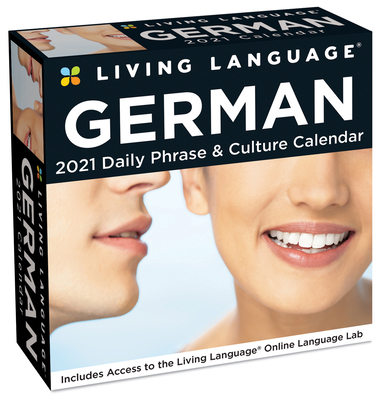 Living Language: German 2021 Day-to-Day Calendar Cover Image