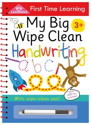 My Big Wipe Clean Handwriting (First Time Learning) Cover Image