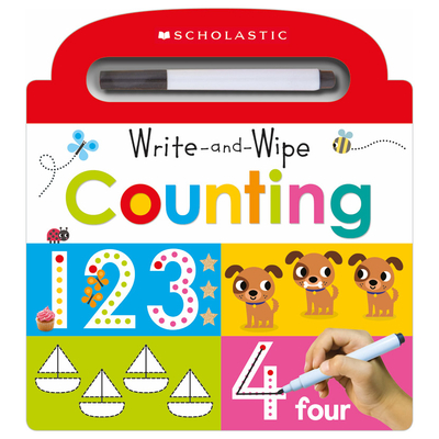 Write and Wipe Counting: Scholastic Early Learners (Write and Wipe) Cover Image