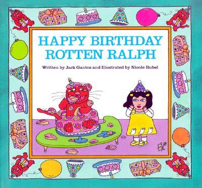 Happy Birthday, Rotten Ralph Book & Cassette Cover