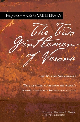 The Two Gentlemen of Verona (Folger Shakespeare Library) Cover Image