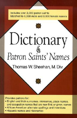 Dictionary of Patron Saints' Names Cover Image