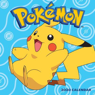 Pokémon 2020 Wall Calendar Cover Image