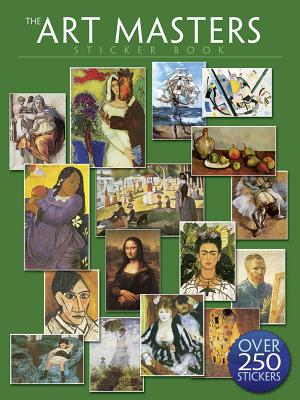The Art Masters Sticker Book: Over 250 Stickers Cover Image