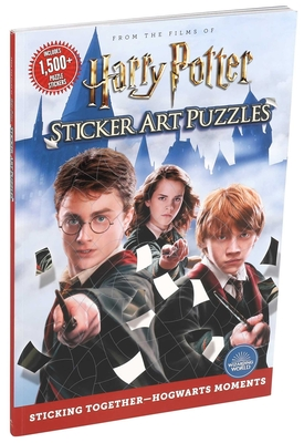 Harry Potter Sticker Art Puzzles Cover Image