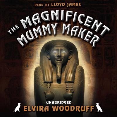 The Magnificent Mummy Maker Lib/E Cover Image