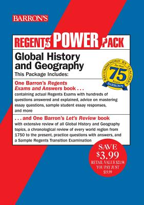 Regents Global History and Geography Power Pack: Let's Review: Global History and Geography + Regents Exams and Answers: Global History and Geography (Barron's Regents NY) Cover Image