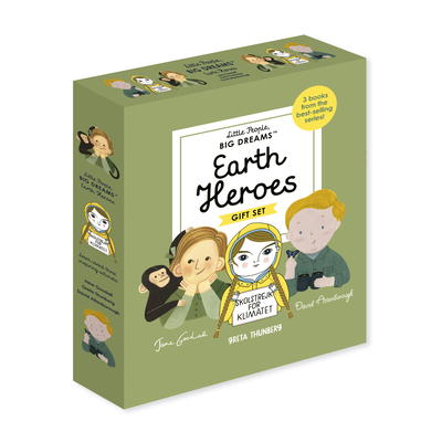 Little People, BIG DREAMS: Earth Heroes Cover Image