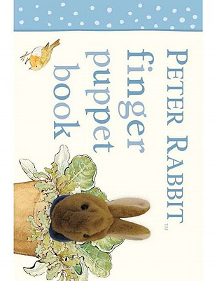 Peter Rabbit Finger Puppet Book Cover Image