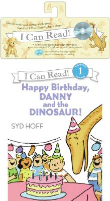 Happy Birthday, Danny and the Dinosaur! Book and CD (I Can Read Level 1) Cover Image