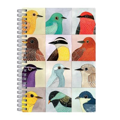 Avian Friends Wire-O Journal 6 X 8.5