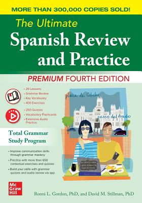 The Ultimate Spanish Review and Practice, Premium Fourth Edition Cover Image