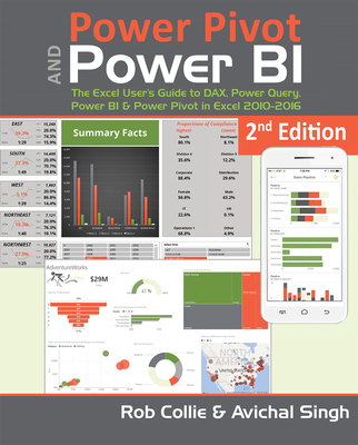 Power Pivot and Power BI: The Excel User's Guide to DAX, Power Query, Power BI & Power Pivot in Excel 2010-2016 Cover Image