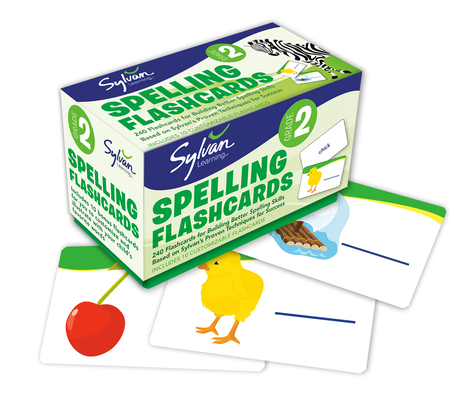 2nd Grade Spelling Flashcards: 240 Flashcards for Building Better Spelling Skills Based on Sylvan's Proven Techniques for Success (Sylvan Language Arts Flashcards) Cover Image