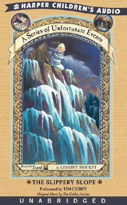 Series of Unfortunate Events #10: The Slippery Slope Cover Image