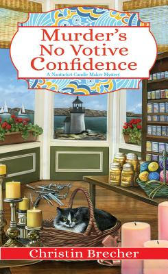 Murder's No Votive Confidence (Nantucket Candle Maker Mystery #1) Cover Image