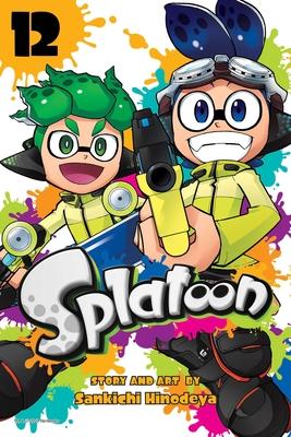 Splatoon, Vol. 12 Cover Image