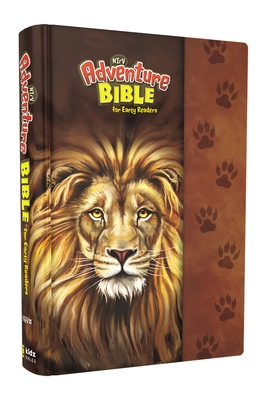 Nirv, Adventure Bible for Early Readers, Hardcover, Full Color, Magnetic Closure, Lion Cover Image