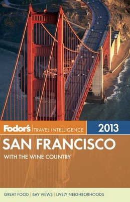 Fodor's San Francisco 2013 Cover