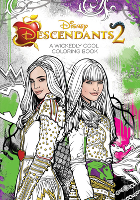 Descendants 2 A Wickedly Cool Coloring Book (Art of Coloring) Cover Image