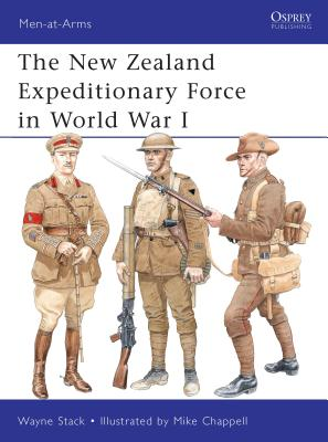 The New Zealand Expeditionary Force in World War I Cover Image