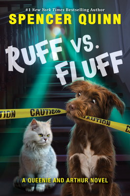 Ruff vs. Fluff (A Queenie and Arthur Novel) Cover Image
