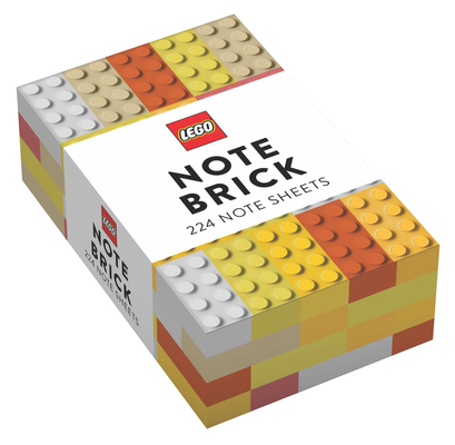 LEGO® Note Brick (Yellow-Orange) Cover Image