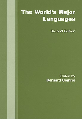 The World's Major Languages Cover Image