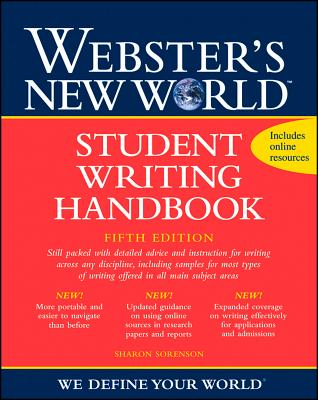 Webster's New World Student Writing Handbook, Fifth Edition Cover Image