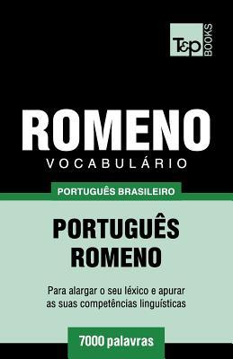 Vocabulário Português Brasileiro-Romeno - 7000 palavras Cover Image