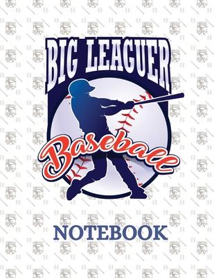 Big Leaguer Baseball Notebook Cover Image