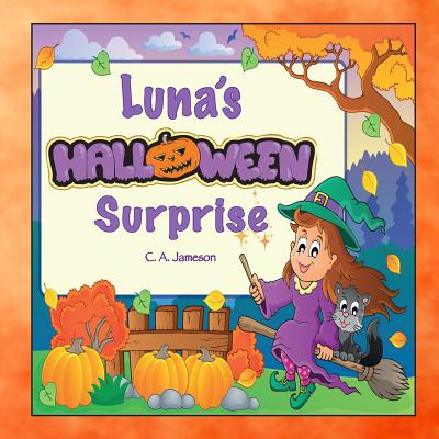 Luna's Halloween Surprise (Personalized Books for Children) Cover Image