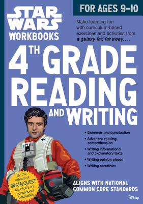 Star Wars Workbook: 4th Grade Reading and Writing (Star Wars Workbooks) Cover Image